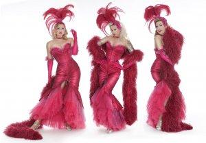 buchen Sie eine Burlesque Show mit den Tänzerinnen von Blonde Bombshell Burlesque