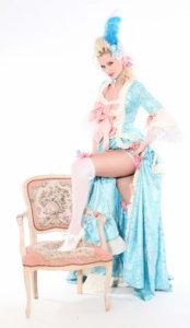 Rose Rainbow Marie Antoinette