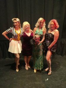 Rose Rainbow with Dusty Summers, Camilla Sands and Dixie Dynamite