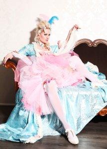 Rose Rainbow Marie Antoinette Rokoko