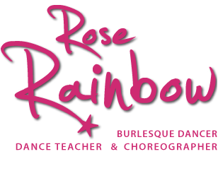 Rose Rainbow Burlesque
