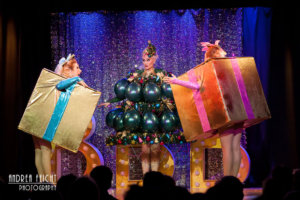 Blonde Bombshell Burlesque - Christmas