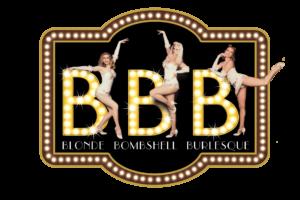 Logo Blonde Bombshell Burlesque